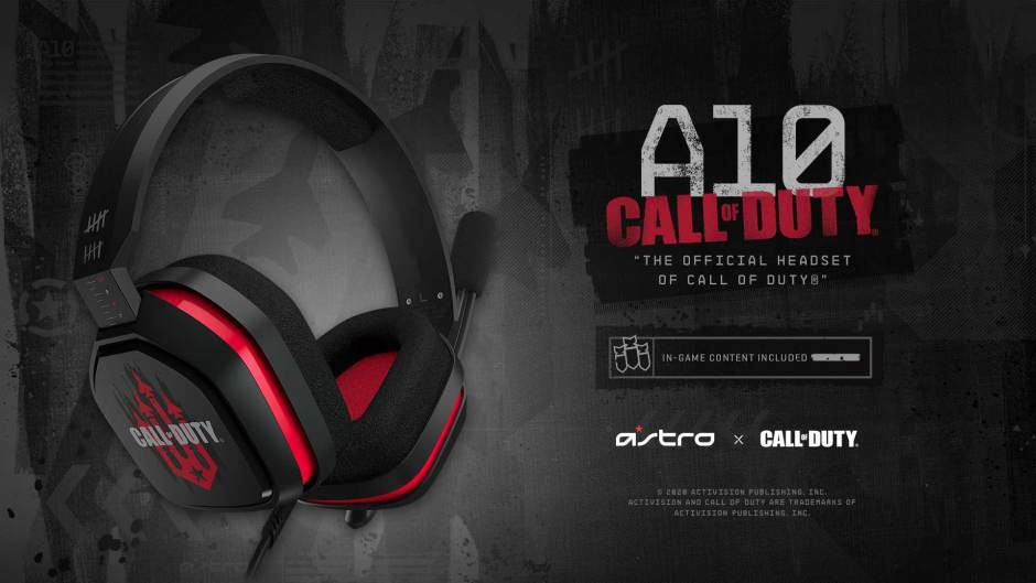 Astro Gaming Call of Duty: Black Ops Cold War A10 headset