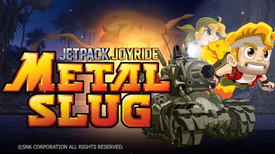 Jetpack Joyride Metal Slug crossover in-game event