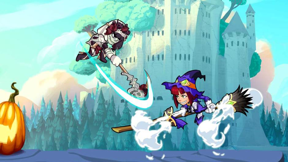 Brawlhalloween in-game event Brawlhalla screenshot