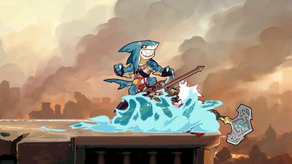 Brawlhalla Mako the Shark screenshot