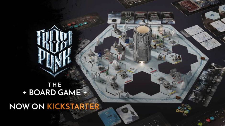 Frostpunk: The Board Game Kickstarter