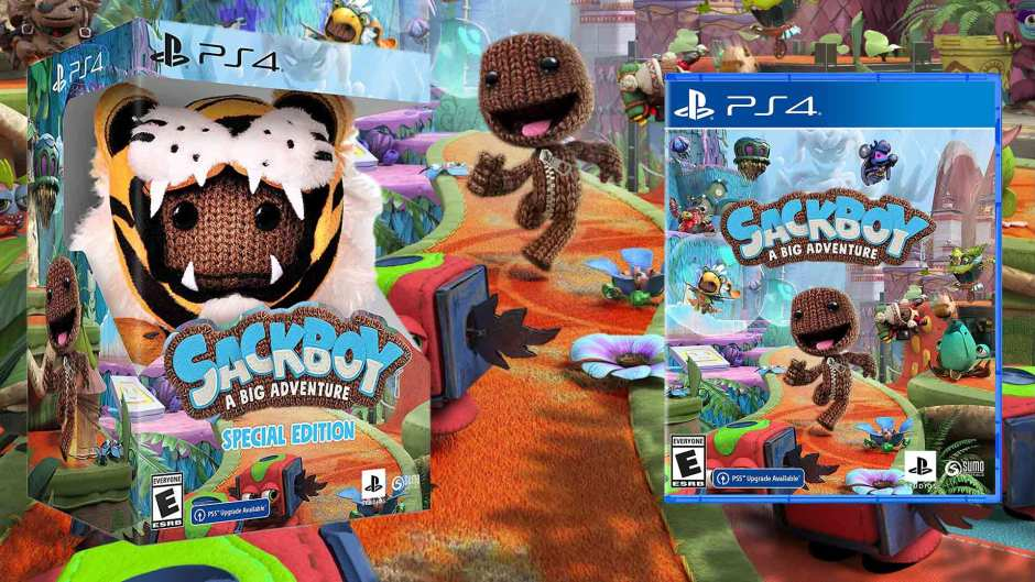 Sackboy: A Big Adventure Special Edition PS4 pre-orders