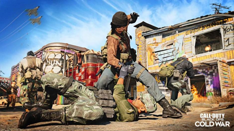Call of Duty: Black Ops Cold War Nuketown '84 screenshots