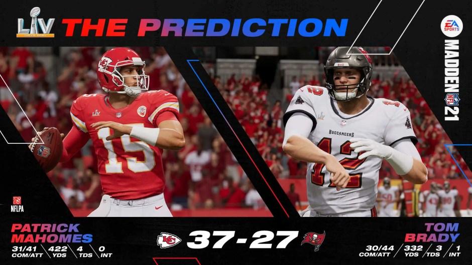 Madden NFL 21 predicts Kansas City Chiefs Super Bowl victory