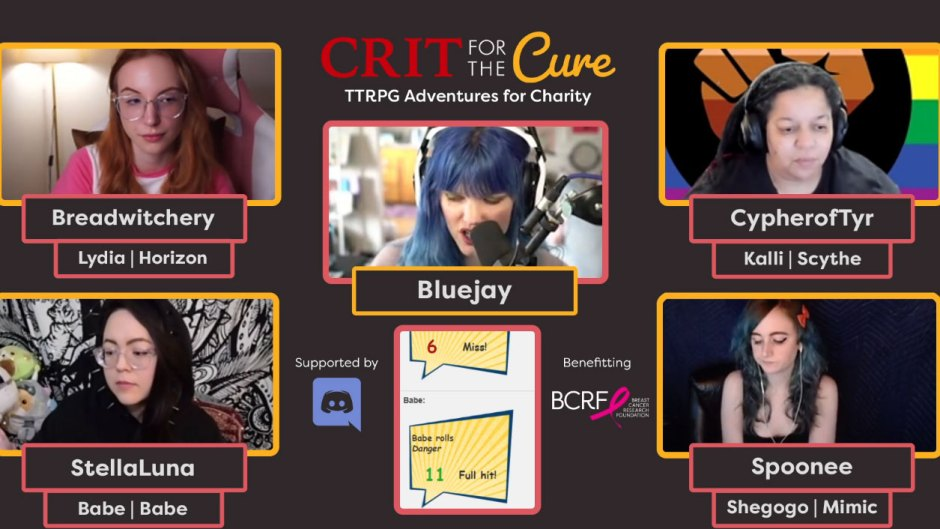Crit for the Cure: the*gameHERs