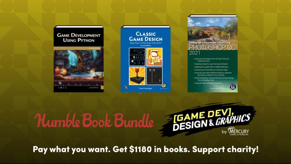 Humble Game Dev, Design & Graphics by Mercury Book Bundle
