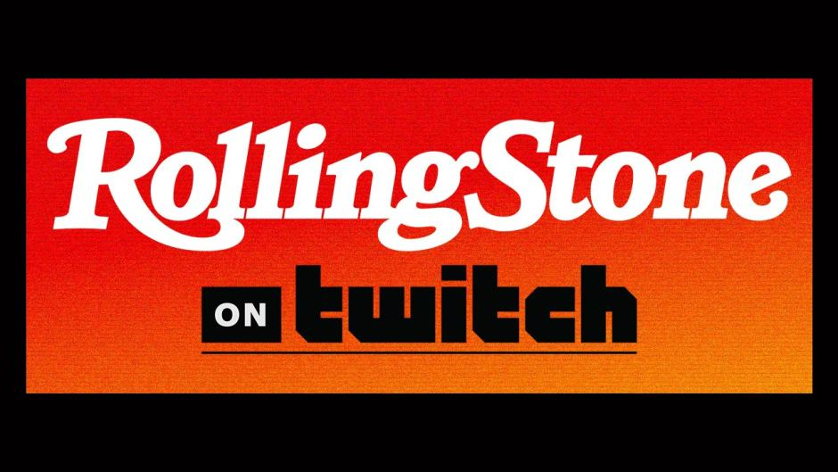 Rolling Stone launches Twitch channel