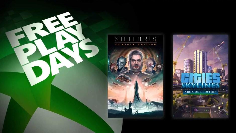 Xbox Free Play Days: Stellaris and Cities Skylines