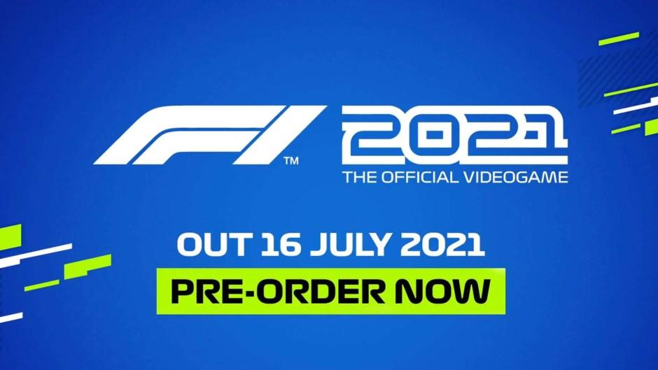 Codemasters announces F1 2021