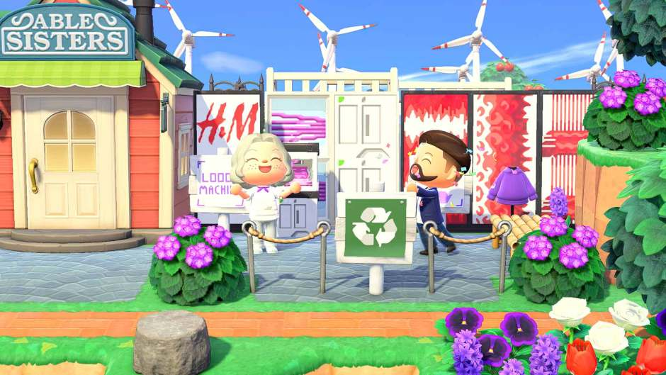 H&M and Maisie Williams join Animal Crossing: New Horizons