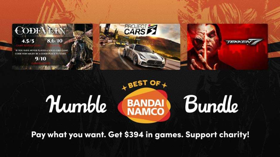 Humble Best of Bandai Namco Bundle out now