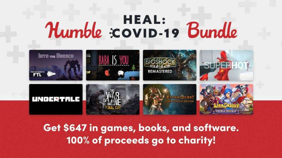 Humble Heal: COVID-19 Bundle out now