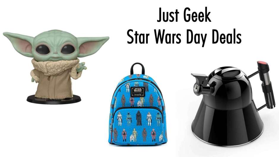 May the 4th: Just Geek Star Wars Day deals