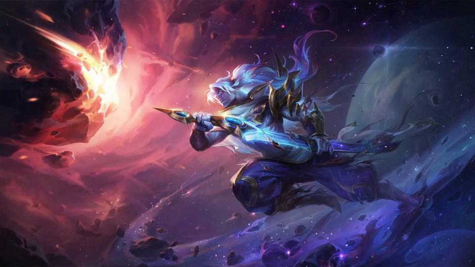 Cosmic Zephyr Yasuo Legends of Runeterra