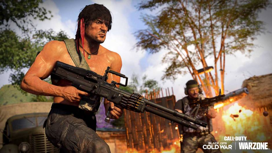 Call of Duty: Warzone, Cold War, Mobile add action icons Rambo, John McClane