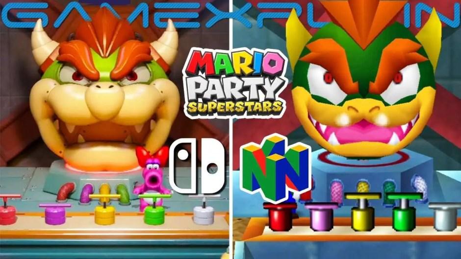 Mario Party Superstar  N64 Mario Party