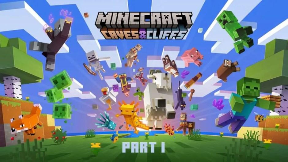 Minecraft Caves & Cliffs Update