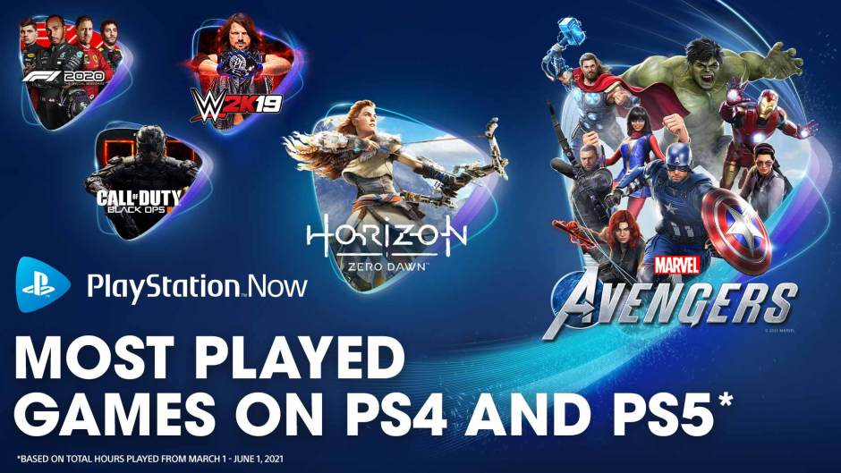 PlayStation Now most-played games of spring 2021
