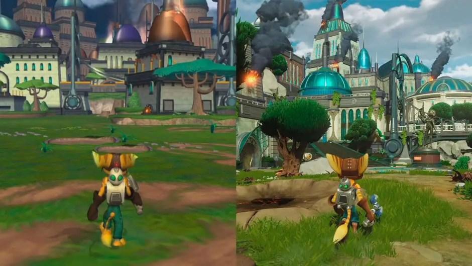 Ratchet & Clank's evolution