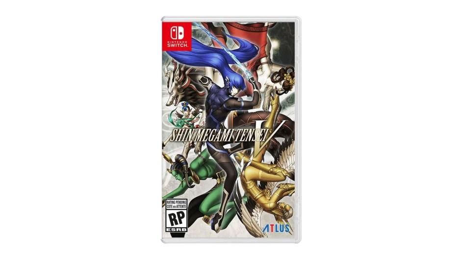 Shin Megami Tensei V Nintendo Switch cover art