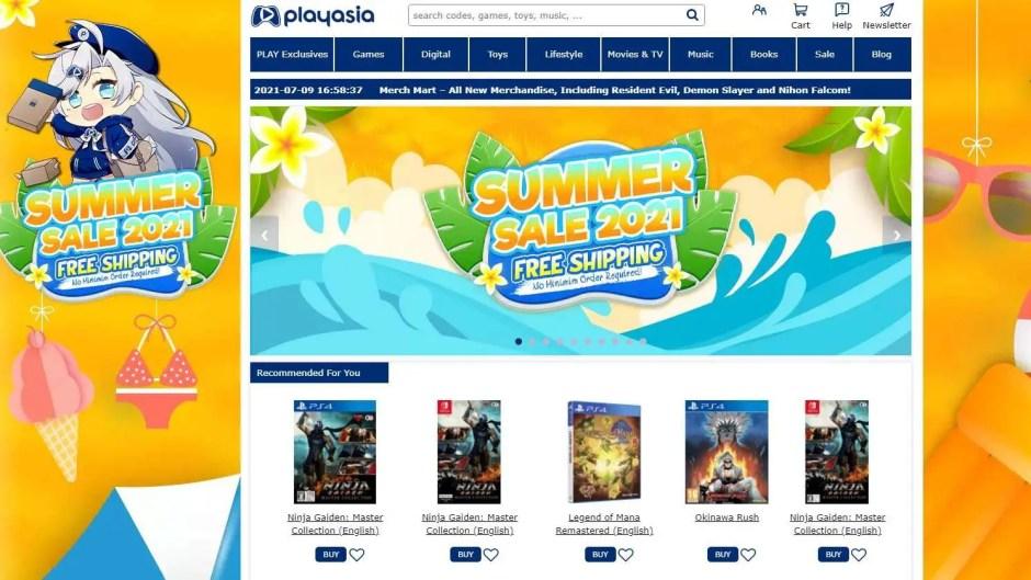 Playasia Summer Sale 2021