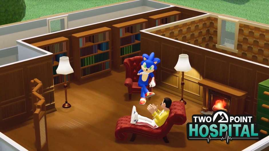 Two Point Hospital x Sonic Crossover Event