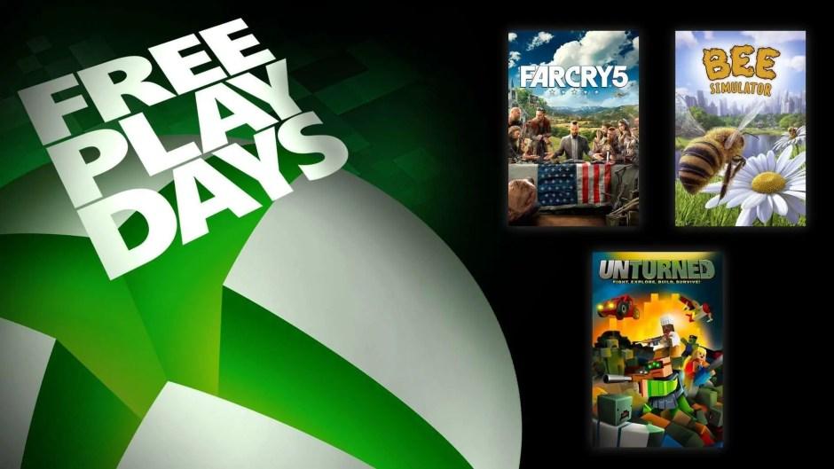 Xbox Free Play Days: Far Cry 5, Unturned, Bee Simulator