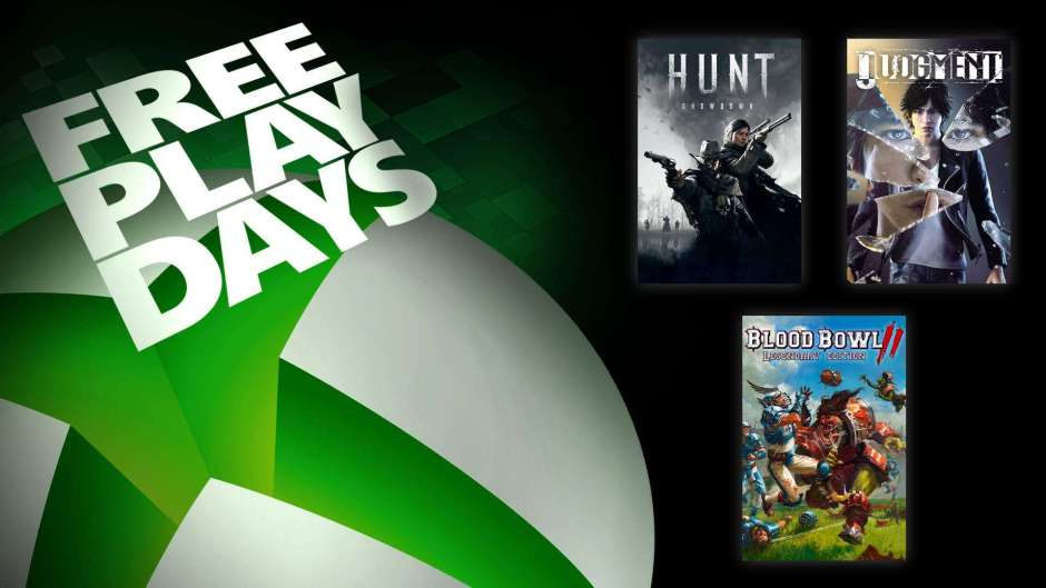 Xbox Free Play Days: Hunt Showdown, Judgment, and Blood Bowl 2