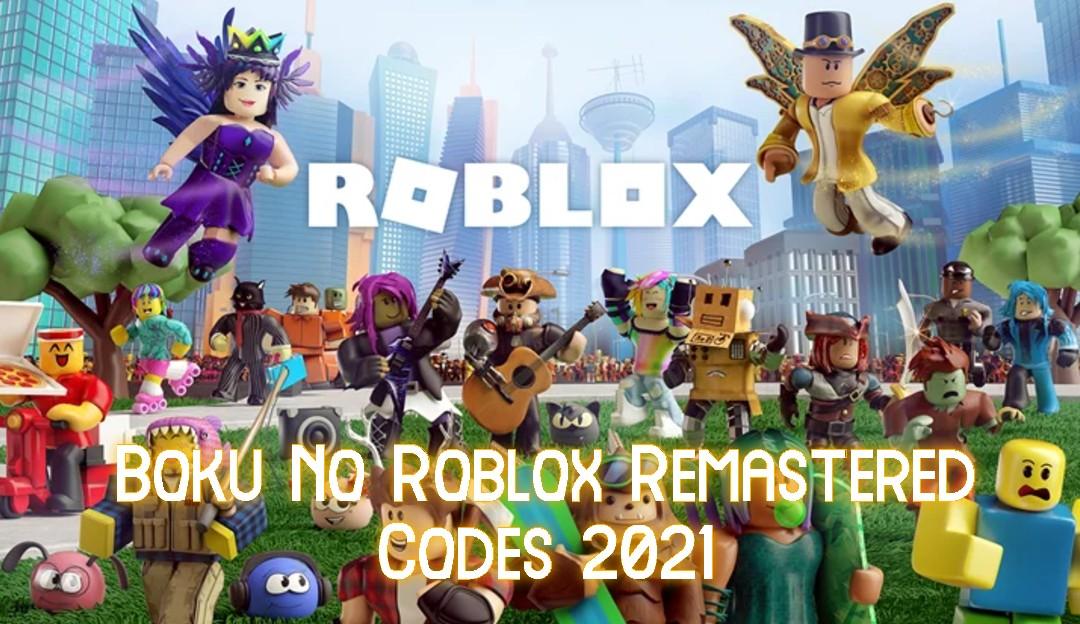 Boku No Roblox Remastered Codes 2021- My Hero Academia Codes