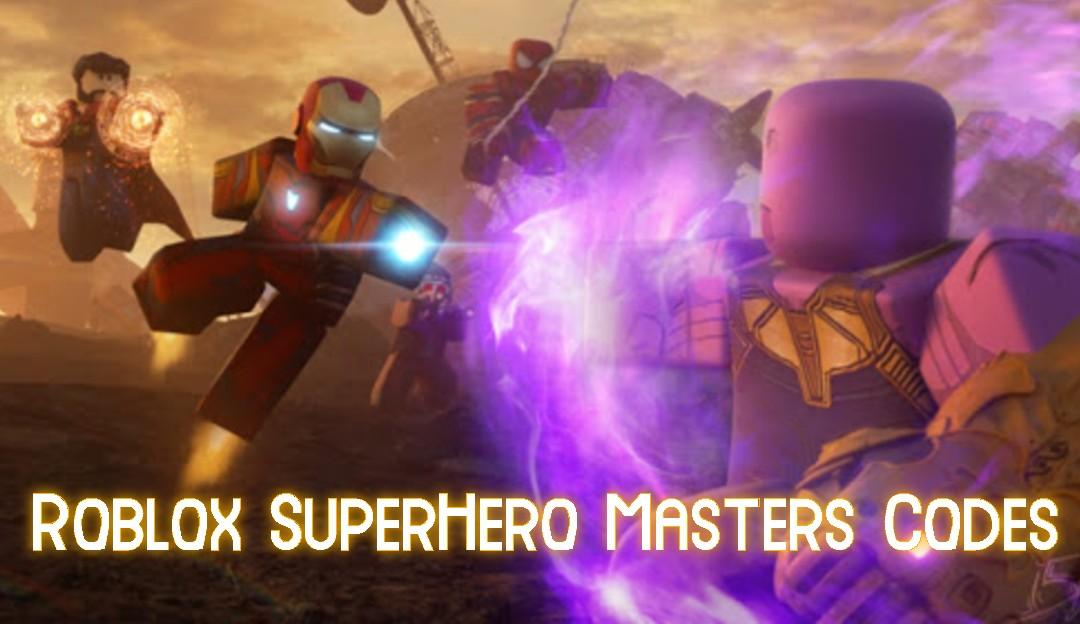 Roblox SuperHero Masters Codes [New Code Added] June 2021