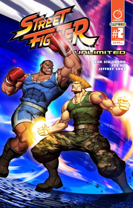 Street Fighter Unlimited #2 Cover A