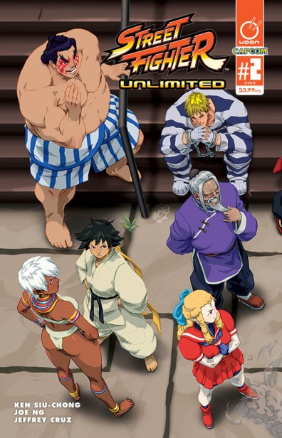 Street Fighter Unlimited #2 Cover B