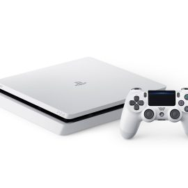 Glacier White PS4 Launching 24th January