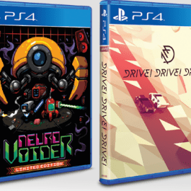 Limited Run Games | NeuroVoider And Drive! Drive! Drive!