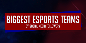 Biggest Esports Teams by Social Media Following