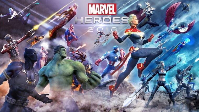 Marvel Heroes Omega cover art