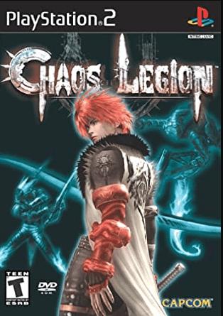 Chaos Legion PS2 Cover art