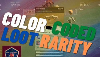 color coded loot rarity