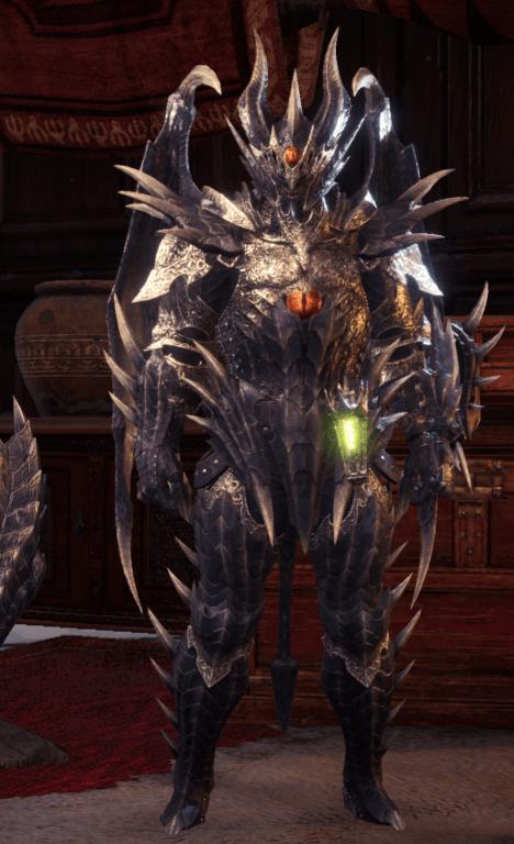 fatalis monster hunter world armor set