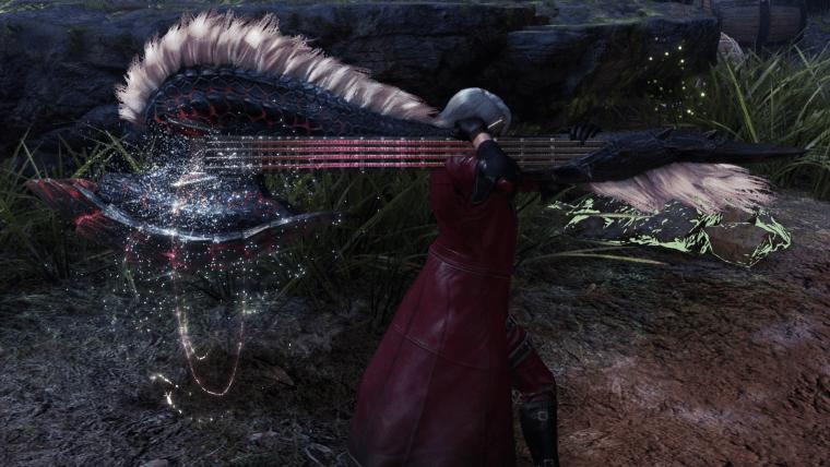 Stygian Zinogre Hunting Horn Guitar weapon monster hunter world