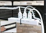 スチール製なのでマグネットタイプのトレーやタップを磁着可能です。