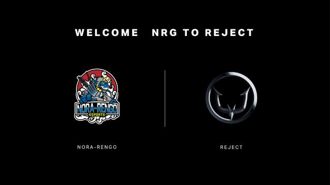 プロeスポーツチーム「REJECT」、強豪チーム「野良連合」のRainbow Six Siege部門『NRG』を買収