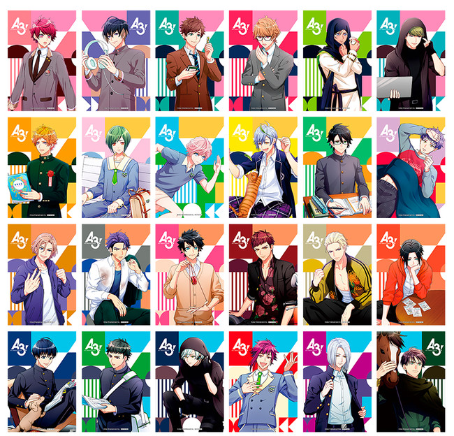 「『A3!』Playback☆MANKAIフェア inアニメイト」10月17日より開催決定!