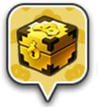 「金の宝箱」アイコン