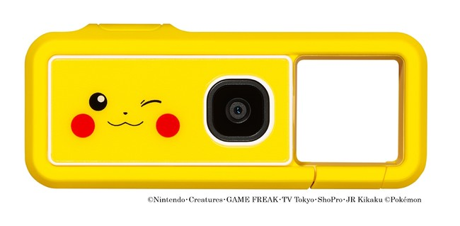 """新コンセプトカメラ「iNSPiC REC」のポケモンデザインモデル""""iNSPiC REC PIKACHU MODEL""""を発売"""