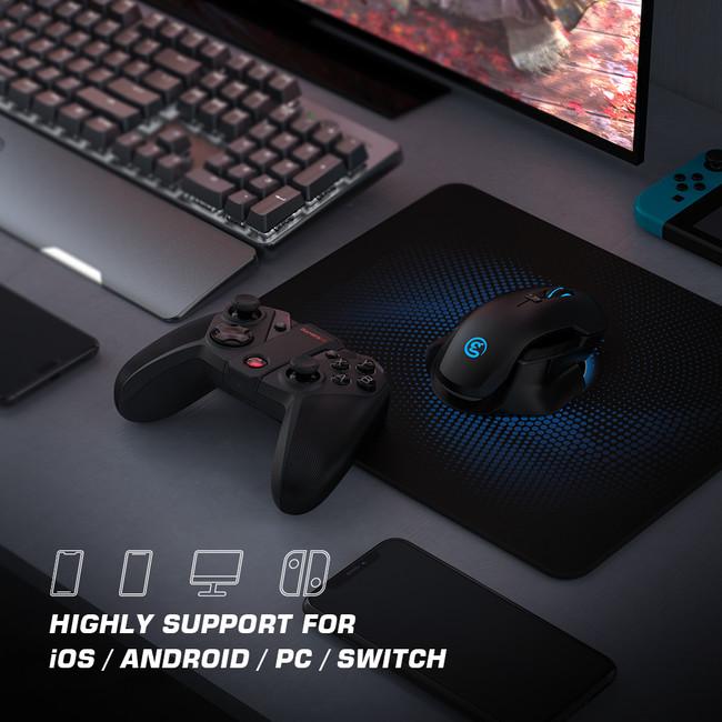 革新的かつ高品質なゲーミングデバイスを提供する GameSir のマルチプラットフォームゲームコントローラー「GameSir G4 pro」