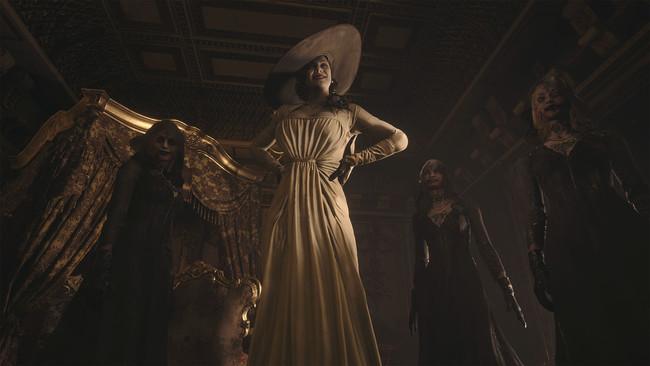 城主ドミトレスクと3人の娘たち。城への侵入者の前に立ち塞がる。