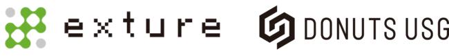 DONUTS USGがエクスチュア株式会社とのスポンサーシップ契約を締結