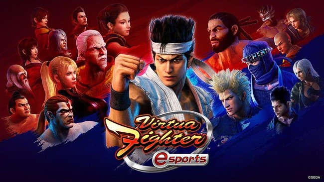 本日6月2日(水)より全国のゲームセンターで稼働開始!「ALL.Net P-ras MULTI バージョン3」対応タイトル『Virtua Fighter esports』