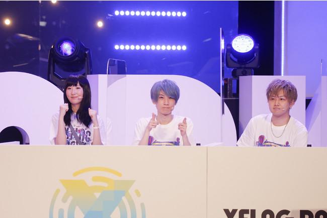 ▲「GODステーション SPECIAL DAY1」に登場した 岩橋由佳さん、タイガー桜井さん、けーどらさん